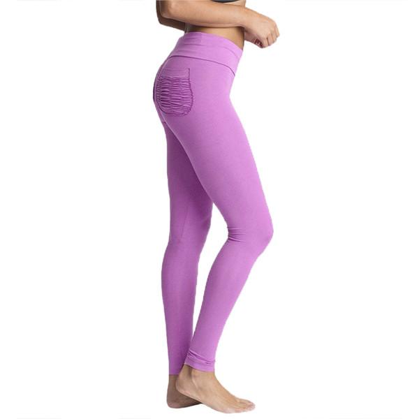 2018 New Mermaid Curve Slim Leggings Women Solid Color Seamless High Elastic FitnessLeggings 843380
