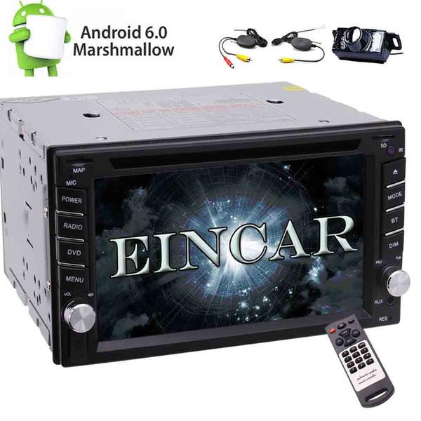 Eincar In Dash Universal Double 2 DIN Android6.0 Car Stereo Quad Core Autoradio GPS Navigation Car DVD Player 1080p Bluetooth SWC/Mirror
