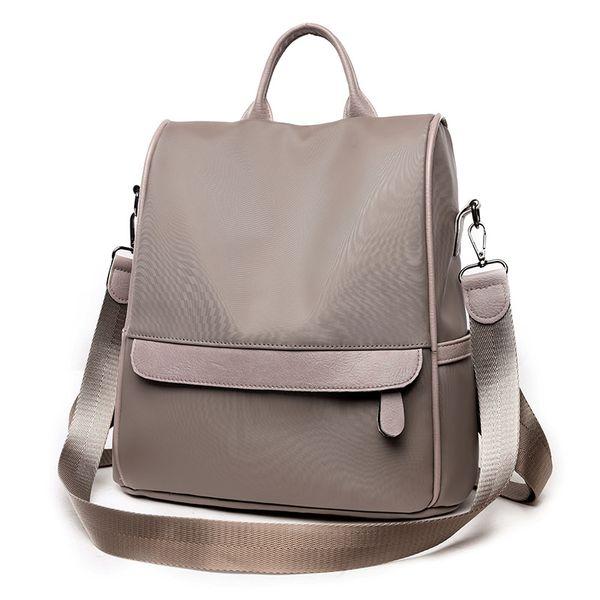 Anti-theft backpack female han edition nylon 2018 new high-capacity joker bags, Oxford cloth travel leisure bag