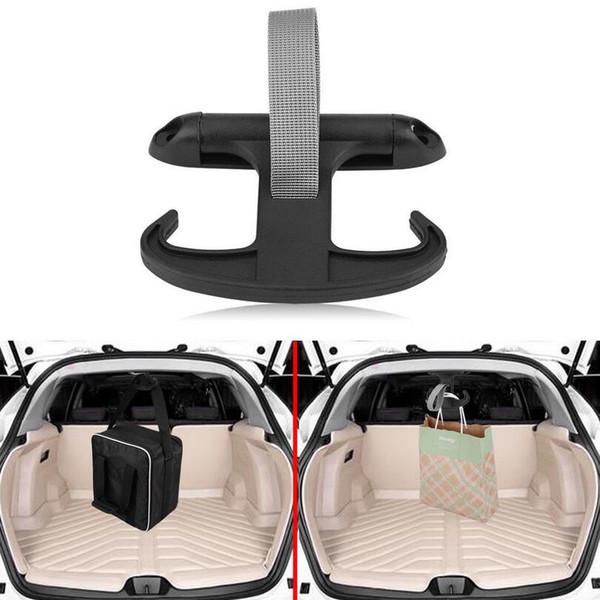 Автомобиль авто багажник сумка крюк вешалка организатор держатель пластик для VW Jetta Volkswagen черный мода EEA215