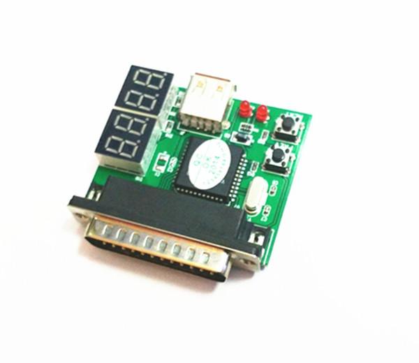 Neue 4-stellige PC Analyzer Motherboard Diagnose Tester USB Post Testkarte
