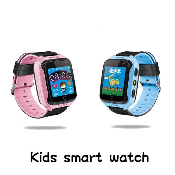 Q528 Kids Anti-lost Touch Screen Smart Watch Real-time GPS Location SOS Call Device Tracker With Camera for Kid Safe