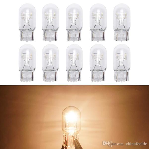Car Halogen Bulb 7440 T20 12V/W21/5W Clear Glass DRL Stop Light Tail Lights Daytime Running Light #1352