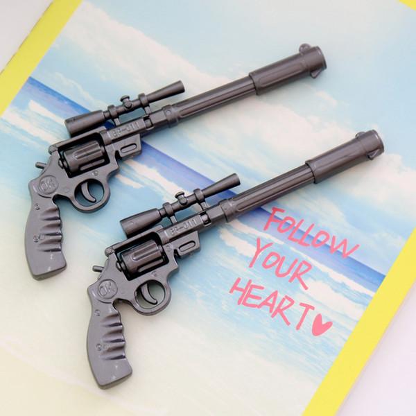 (Hot Sell) 0.7mm Cute Kawaii Simulation of Revolver Ball Ballpoint Pens Ballpen For Office School Writing Supplies Stationery