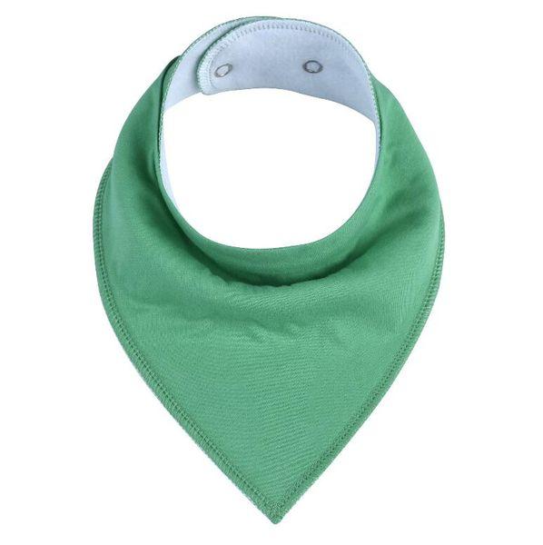 New plain color cotton fleece bibs newborn bibs and burp cloths baby fashion triangle bibs mix colors