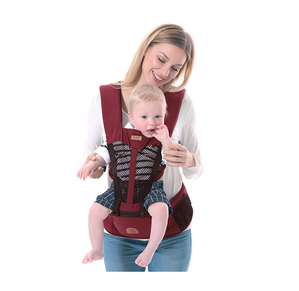2019 New 0 36m Baby Heaps Multifunctional Newborn Baby Carrier Ergonomic Kids Sling Backpack Pouch Wrap Front Facing Kangaroo Hipseat From Cornemiu