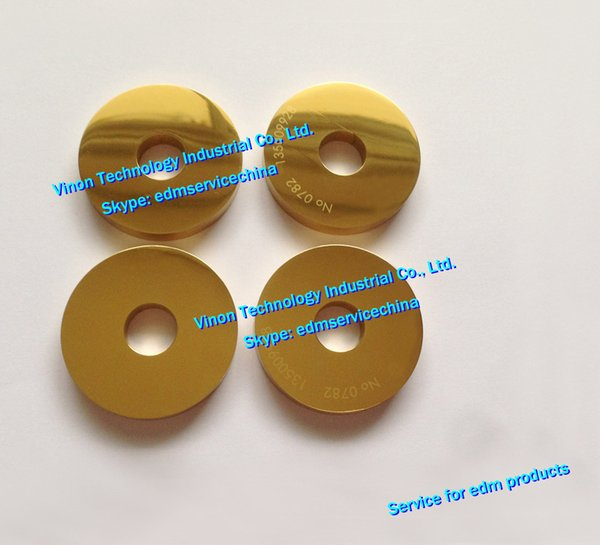 (1pc) 135009928 edm Lower Drive Roller Coated Ø40x12x6mm for ROBOFIL 330F,440 Charmilles edm parts 135.009.928,24.04.843 Wire Driving Pulley