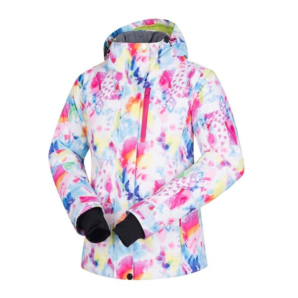 winter walk -30 deegree ski jacket for women thicken warm winproof snowboard skiing jacket female snow coats Size S M L XL
