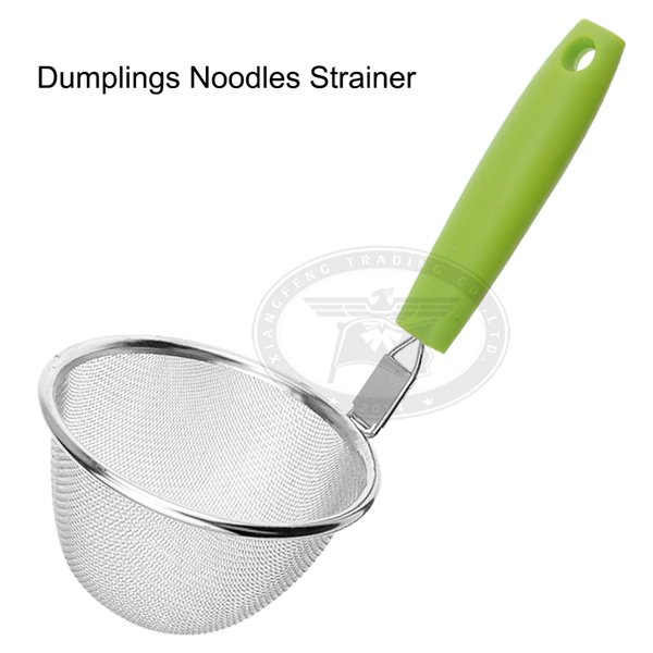 2019 Stainless Steel Mesh Spider Food Dumpling Noodle Strainer Dumpling Sieves Inserts Table Craft Food Strainer Baskets Xf0131 From Xiangfengtrading
