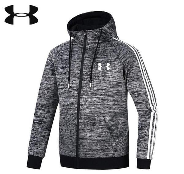 2019 primavera e autunno nuovi uomini giacca sportiva da uomo sport tempo libero cappotto autunno maglione fitness cationico