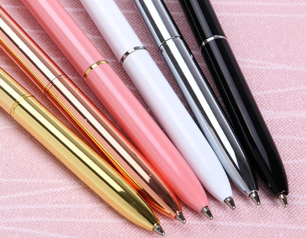 Creative Crystal Glass Kawaii Ballpoint Pen Big Gem Ball Pen With Large Diamond 11 Colors Fashion School Office Supplies