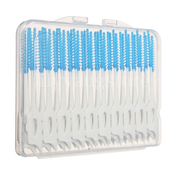 Useful 40pcs/set Interdental Floss Brushes Dental Teeth Oral Care Clean Tooth Cleaning Tool Hot Sale