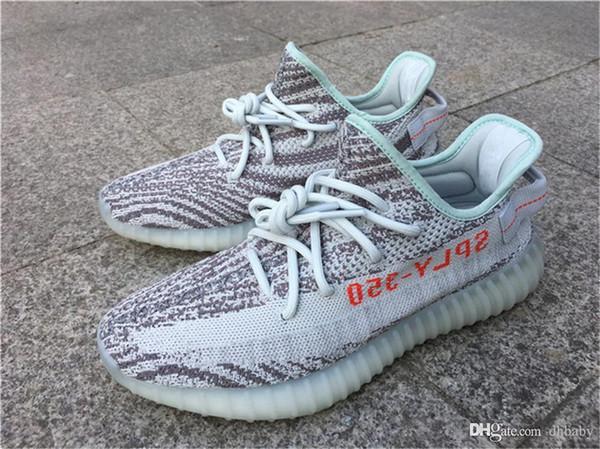 san francisco 7bbdb d24d5 Shop Athletic Shoes Online, Originals New Boost 350 V2 Blue Tint B37571  Sply 350 Fluorescent Green Zebra Men Women Running Shoes Sport Kanye West  ...