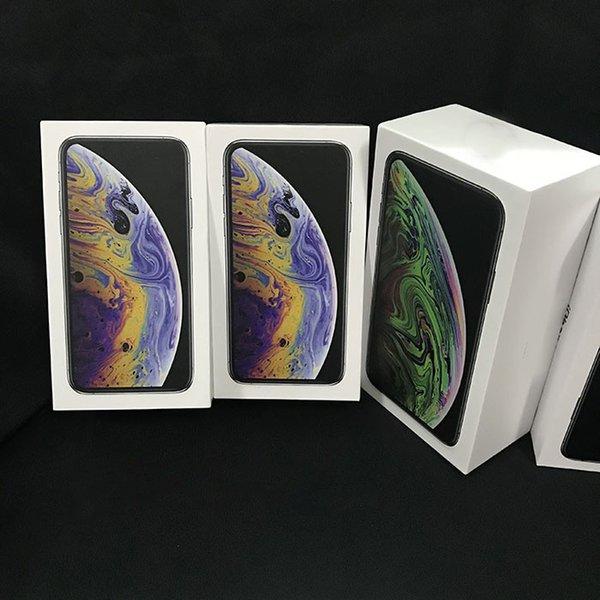 20 pcs en gros US EU Version UK Pour iPhone XR XS MAX Vide Téléphone Paquet Boîte D'emballage Cas Sans Accessoires protecteurs de boîte de téléphone