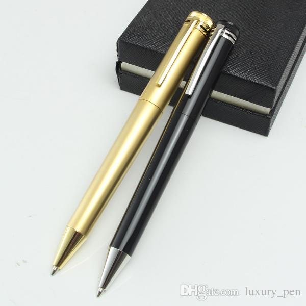 Classique capless MT black or gold ballpoint pen writing with capless refill collection pen for school office stationery pens hot sale