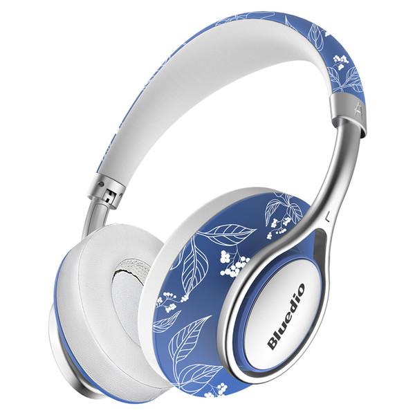 Bluedio A2 Складные Bluetooth-наушники BT4.2 Беспроводной стерео дизайн одежды Над ухом Музыкальная гарнитура Аксессуар для телефона Цветной дизайн Scrawl