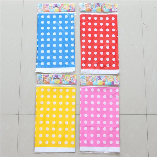 Baby Shower Party blue/yellow/red/pink maps Happy Birthday Tablecover Kids Favors Decoration Tablecloth Events Supplies 1pcs/lot