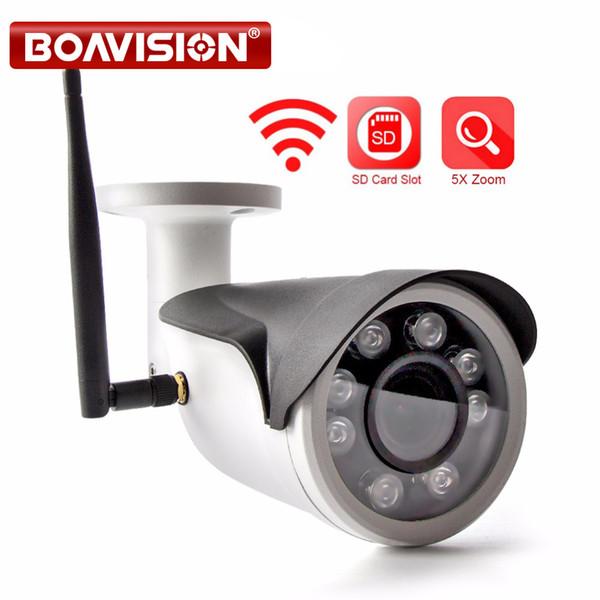HD 960P 1080P WIFI IP Camera WI-FI 5X Zoom Auto Outdoor CCTV Surveillance Wireless Camera TF Card Slot APP CamHi