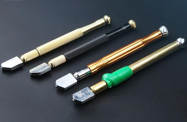 Free Shipping 6-12mm 8-19mm High Quality Roller Type Glass Knife Diamond Glass Cutter with Thick Glass Tile Cutter