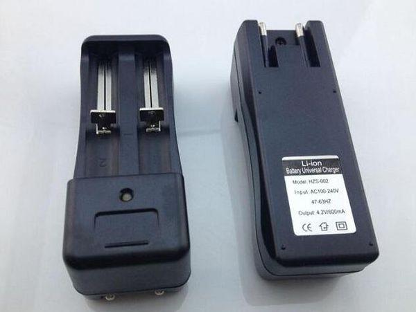 18650 18350 Bateria Adaptador de Carregador de Parede Portas Duplas para Li-ion 18500 16340 16340 eGo Lanterna Universal Baterias Carregadores UE Plug EUA Q2