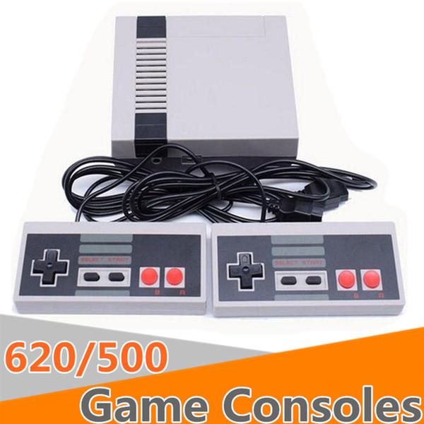 2018 Mini TV puede almacenar 620 500 videoconsolas portátiles para videoconsolas NES con cajas de venta al detalle DHL