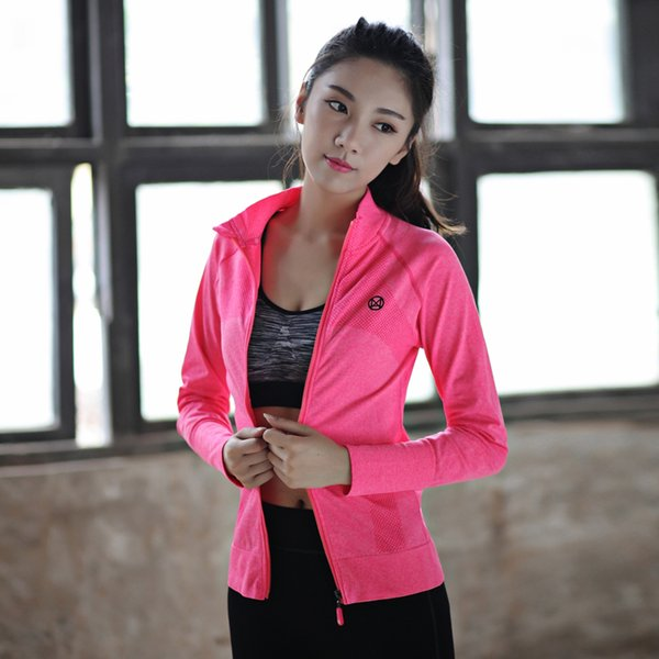 LD.ALICE Brand Women Yoga Shirts Long Sleeve Fitness Snowflake Zipper Female Sports T-Shirt Running Sex Ladies Clothes Yoga Wear