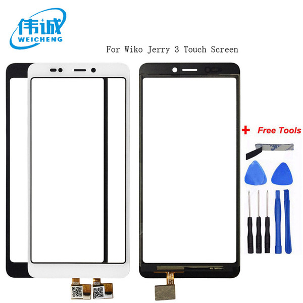 WEICHENG For Wiko Jerry 3 Touch Screen 5.45 inch Touch Panel Perfect Repair Parts Mobile Accessories +Free Tools