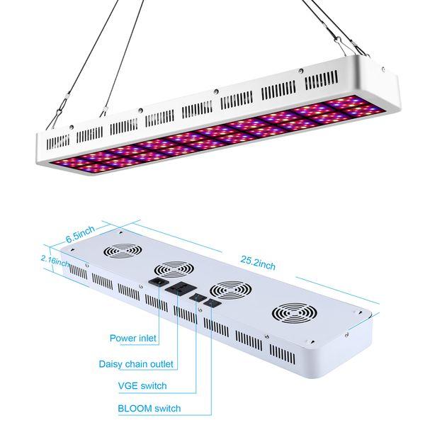 300 Watt 600 Watt Vollspektrum LED Wachsen Licht Hydroponik Zimmerpflanzen, LED Wachsen Lampe Innengarten Lichter für Hydroponik Systeme Lager IN USA