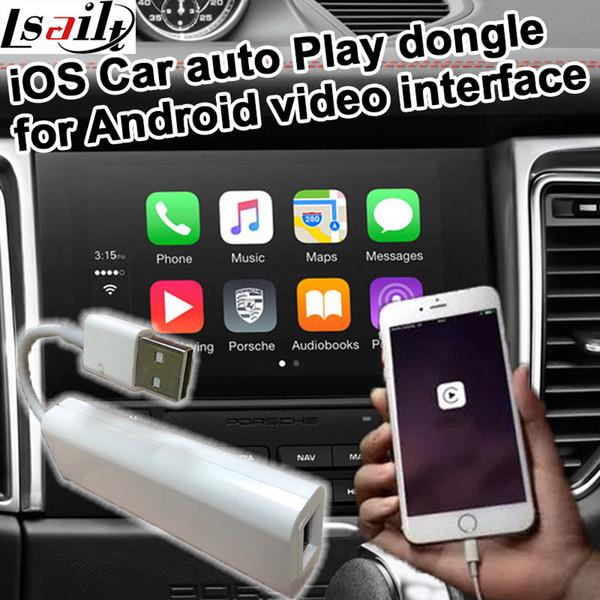 Apple USB araba otomatik Araba oynamak için dongle Android sistemi video arayüzü GPS