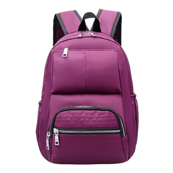 Women Backpack Waterproof Nylon Cute School Backpack Bookbag School Bags for Teenage Girls Travel Softback