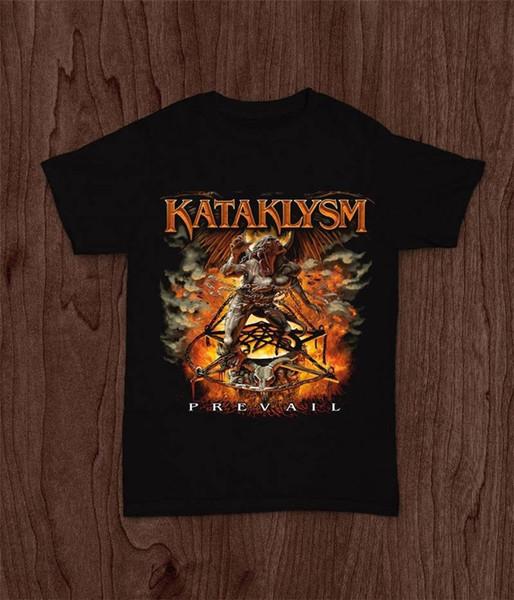 T Shirt Print Casual Breaking Bad Print T Shirt For 2018 Crew Neck Kataklysm Prevail Short-Sleeve Printing Mens Shirt