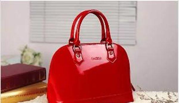 2018 high quality Leather Women handbag Fashion lock Women Shoulder Bag Fashion Bags