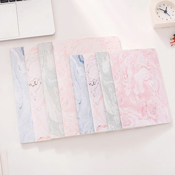 B5 A5 Cute Pink Notebook Paper Elegant Marble Lined Paper Journals Diary Cute Stationery Office School Supplies Notepad Gifts
