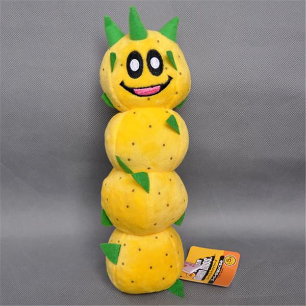 EMS Super Mario Bros Pokey Sanbo Cactus 23CM Plush Doll Stuffed Best Gift Soft Toy