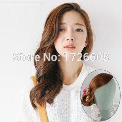 Long side bang for women Hot Korea style Seamless oblique bangs clip on bang cute female clip in fringe hair wholesale free ship