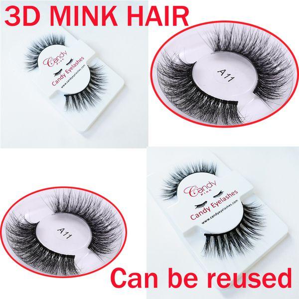 Hot NEW 3D Mink Hair False eyelashes many Styles Handmade Beauty Thick Long Soft Mink lashes Fake Eye Lashes Eyelash Sexy High Quality GR345