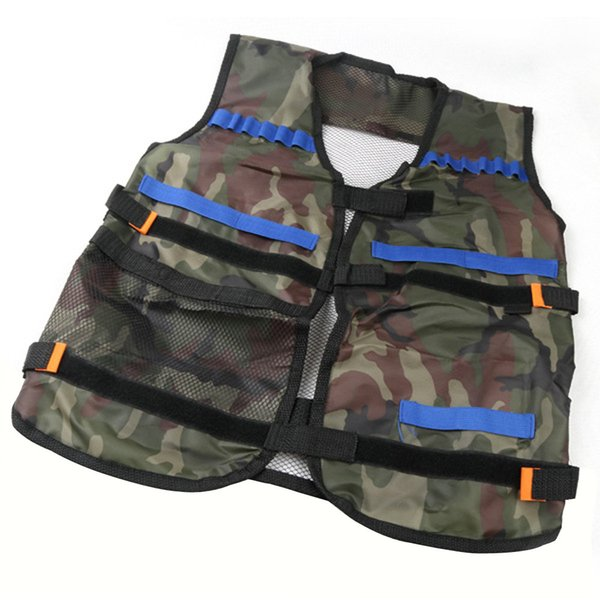 Darts Vest Tactical Vest Kids Toy Gun Clip Jacket Foam Bullet Ammunition Holder Outdoor Games Tactical Toy Kids Gun Clip