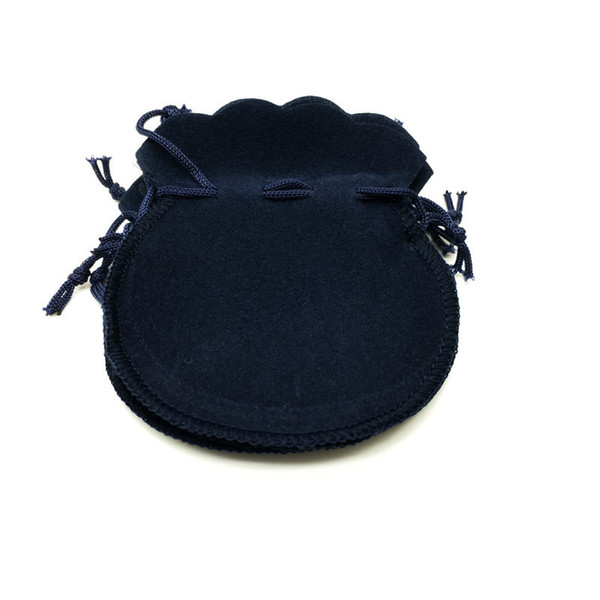 100pcs 7x9cm Gourd Velvet Drawstring Pouch Bag/Jewelry Bag Christmas/Wedding Gift Bags Black Red Pink Blue 4 Color Wholesale
