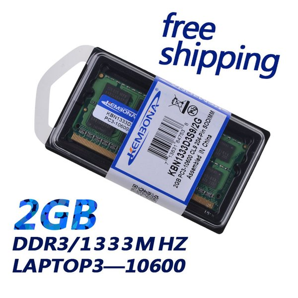 memory ddr3 ram KEMBONA HOT SELLING !! Memory DDR3 Ram 1333Mhz 2GB for Notebook Sodimm Memoria Compatible with 1066Mhz Free Shipping