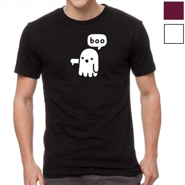 T-shirt da uomo BOO Cartoon TShirt
