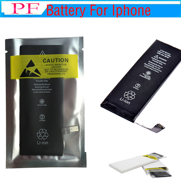 best selling (100% Full Original New) Not Copy~! 100% capacity!!! Zero Cycle Built-in Internal Li-ion Replacement Battery For iPhone 5s 5c 6 7 7P 8G 8P