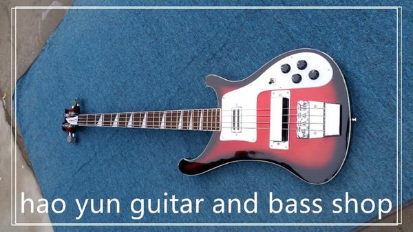 Bas gitar çin özel mağazalar yapılan elektrik bas 22 fret gül ahşap klavye serin teşekkür ederim