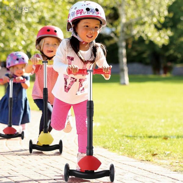 Ancheer Nueva Aleación de Aluminio Kick Scooter Altura Ajustable Mejores Regalos para Niños Niños Niños Niñas Scooters de Pie
