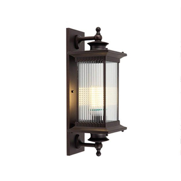 Outdoor Waterproof Wall Lamp Europe and The United States Simple Outdoor Terrace Balcony Door Villa Wall Lamp Retro Led