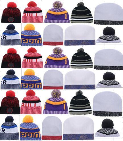 top selling beanies for Men women Knitted Beanie knit hats for cheap Wool Hat Man Knit Bonnet Basketball Beanies bulls Gorro Thicken Cap