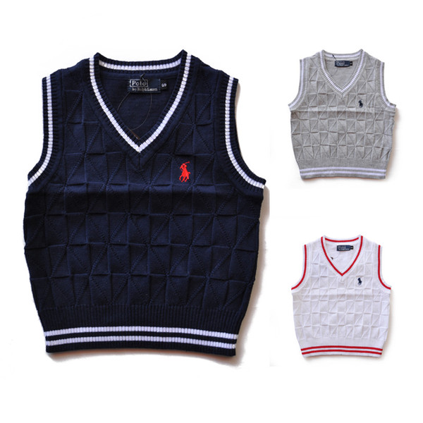 2019 Yüksek Kalite Moda Yeni Marka çocuklar Kazak bebek giysileri İlkbahar / sonbahar / kış Erkek Ve Kız Çocuk polo giyim Kazak 007