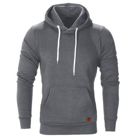 new design sweatshirt men 2018 hoodies male long sleeve solid hoodie men black red big size poleron hombre