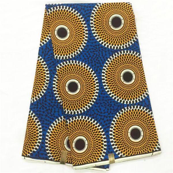 african wax print fabric for wedding real wax block print fabric high quality ankara wax fabric cotton garment material 6yards per piece