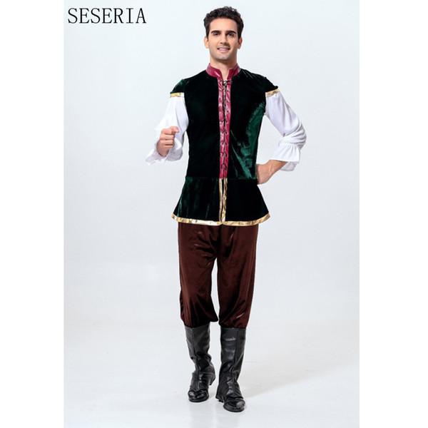 SESERIA 3 Pcs Oktoberfest Costume Bavarian Octoberfest German Festival Beer Halloween for Men Beer Costumes One Size