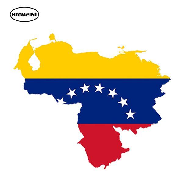 Atacado Decalques de Vinil Adesivos de Carro Adesivos de Vidro Riscos Adesivos Adesivos de Parede Cortado Acessórios Jdm Venezuela Mapa Da Bandeira